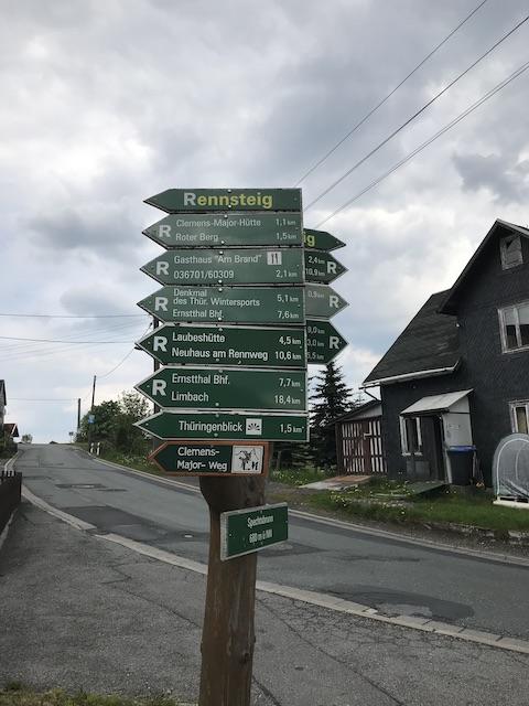Wegweiser-Schilder